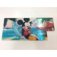 Quality Customized Shape Die Cutting PP 3D Lenticular Stickers For Pencil Case ISO9001:2008 wholesale
