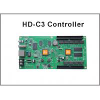 China Asynchronous RGB led display controller HD-C3 internet+usb port 384 width x 256 height with 1hub 75 board on sale