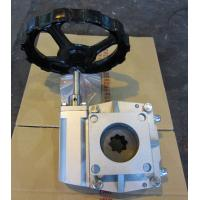 China Cast Steel Protection Rating Ip65 Ball Valve Gearbox For Pneumatic Actuators on sale