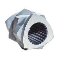 China ZSK45 Nickel Alloy Twin Screw Extruder Parts Screw Segment For PP PVC on sale