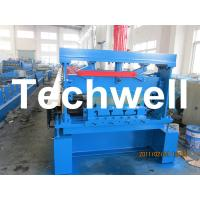 Quality 10 - 12Mpa Hydraulic Pressure Metal Deck Roll Forming Machine for 0.8 - 1.2 mm Thickness wholesale