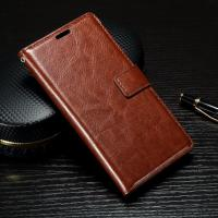 Quality Crazy Horse Sony Xperia Leather Case For XP With Soft TPU Back Cover 62g wholesale
