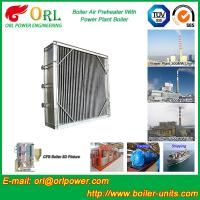 Quality High Temperature Solid Fuel Boiler Steam Air Preheater In Cement Plant wholesale