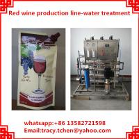 Quality red wine plastic bag filling and packing machine wholesale