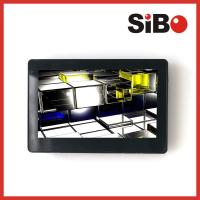 Quality Customized 7 Inch Wall Flush Mount  POE Touch Panel With RS485  For Industrial Control System wholesale