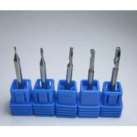 China Solid Carbide One flute spiral bits Solid carbide single flute end mill on sale