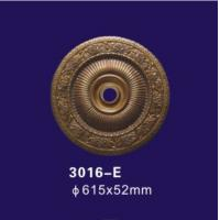 Quality Bronze Color Decorative Ceiling Cover Plate , Polyurethane Ceiling Rose For Home Deco wholesale