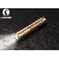 Quality Waterproof Everyday Carry Flashlight Brass Material Good Heat Dissipation wholesale