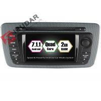 Quality Built - In Mirror Link 6.2 Android Car DVD Player Seat Ibiza Car Stereo Head Unit wholesale