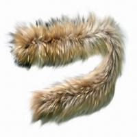 Quality Raccoon fur scarf, customized designs are accepted wholesale