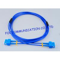 Quality Rugged Optical Fiber Patch Cord SC - SC G.657A Fiber Optic Jumper Cables wholesale