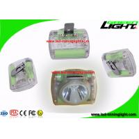 China Highest Lumens Rechargeable LED Miner Headlamp with Fire Resistant PC Material on sale