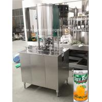 Quality Beverage Filling Machine, Automatic Can Filling Line, Beverage Canning Machine wholesale