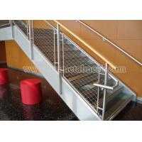 Quality Ferruled X-tend Inox Wire Rope Mesh For Staircase Safety wholesale