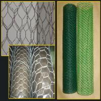Quality Home Black Rabbit Wire Netting , 20 Gauge Hexagonal Wire Mesh Fence wholesale