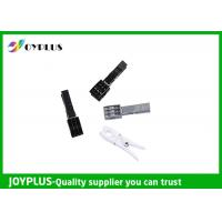 Quality Black White Plastic Clothespins , Strong Clothes Pegs PP / TPR Material wholesale