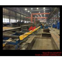 Quality Original Design H Beam Flange Straightening Machinery for H Beam Production Line wholesale