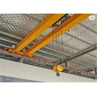 Quality 10 Ton Electric Bridge Double Girder Overhead Crane With High Efficiency A3-A5 Working Duty in Yellow wholesale