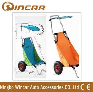 Quality Aluminum Folding Beach Cart / surf fishing Cart Kayak Trolley wholesale