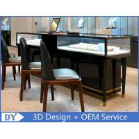 Quality Simple Nice Black Color Jewelry Counter Display With Cabinets wholesale