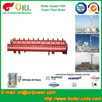 Quality Electrical Water Boiler Header Manifolds High Pressure , Heating Manifold Systems wholesale