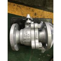 Quality API Cast Steel Floating Ball Valve Fire Safe Design Long Working Life wholesale