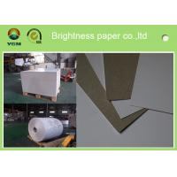 Cheap 230g - 450gsm Grey Back Duplex Paper Board In Roll And Sheet SGS Certified for sale