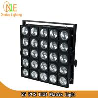 Buy cheap Guangzhou Factory Stage 25 pcs LED matrix light RGBW 4 in 1 Led Moving Head from wholesalers
