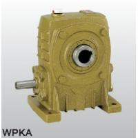 China Output speed 14-300 RPM single WP series - WPKS worm reducer on sale