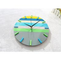 "Quality 12"" Large Round Creative Wall Clocks Ultra Thin Battery Operated Clock wholesale"