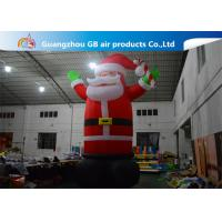 China Hot Selling Outdoor Giant Inflatable Santa Claus  Christmas Yard Decorations on sale
