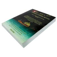 China ODM 1c+1c 200gsm C2S art paper Softcover Book Printing Services with perfect binding on sale
