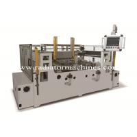 Quality PLC Controlled Radiator Core Builder Machine For 4 Rows Radiator Core wholesale