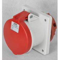 Quality IP44 Protection Grade Industrial Power Socket / 32 Amp Industrial Socket wholesale