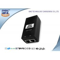 Quality GME Switching Power Adapter 48V 0.5A Black Regulated AC DC Adaptor wholesale
