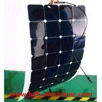 Quality 2016 Customized Semi Flexible Solar Panel 100W For Marine RV Cara wholesale