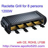 Cheap Raclette Grill for 8 persons for sale