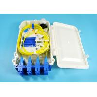 Buy cheap 12 Port SC FTTH-020 Series fiber optic termination box 0.9mm 2.0mm 3.0mm Pigtail Diameter from wholesalers