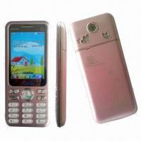 Quality GSM Double-frequency Digital Mobile Phones/Qwerty Dual-SIM Card Phones with Touch Color Screen wholesale
