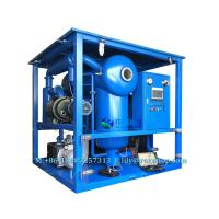 Quality Transformer Oil Purifier with Double Stage Vacuum System ( Vacuum Pump + Roots Pump) wholesale