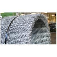 Quality Acid Resisting Galvanized / Stainless Steel Pre Crimped Wire Fencing , SGS wholesale