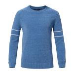 Quality Crew Neck Mens Warm Winter Sweaters Slim Fit Custom Logo Multi Colored wholesale