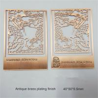 China metal gift factory for exquisite photo etched bookmarks, cheap prices, MOQ500pcs,