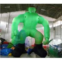 Quality 5m H Giant Inflatable Green Man/Inflatable Hulk for Decoration wholesale