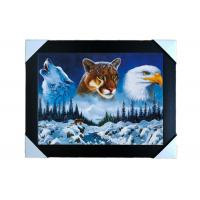 Quality PS Frame Stock  3D PET Lenticular Printing Services Wall Decorative Picture wholesale