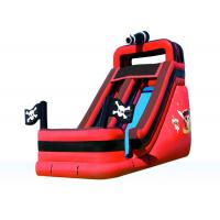 Quality Attractive Fun Inflatable Pirate Slide , Amusement Park Outdoor Inflatable Slide wholesale