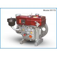China R175 Single Cylinder Small Marine Diesel Engines For Boat , 75mm Cylinder Diameter on sale