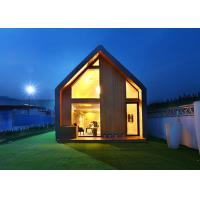 China Modern Light Steel Prefab Small Garden Studio Resort House Holiday Hotel on sale