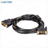 China High speed transmission DVI to DVI cable ( 24+1 / 24+5 / 18+1/18+5 ) on sale