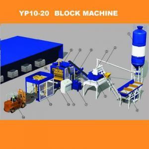 Quality Automatic Concrete Brick Making Production Line - YP10-20A wholesale